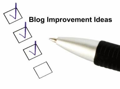 Blog Improvement Ideas