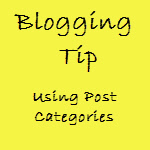 Blogging SEO - Use Post Categories