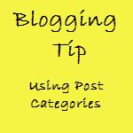 Blogging SEO - Use Post Categories