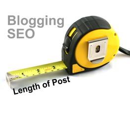 Blogging SEO - Blog Length