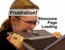 SEO Page Load Time - Slow Causes Frustration