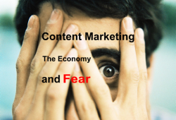 Content Marekting and Fear