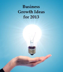 Business Growth Ideas for 2013