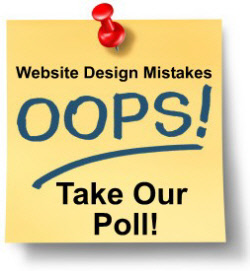 Website Design Mistakes