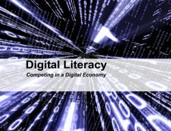 Digital Literacy and Content Marketing