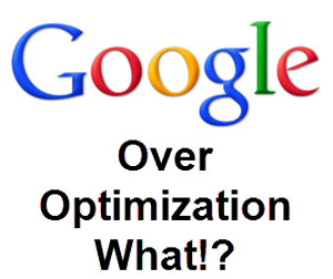 SEO and Over-Optimization