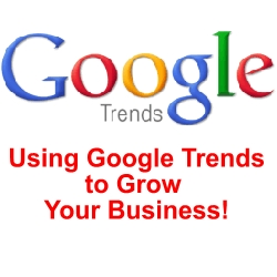 Growing your business using Google Trends