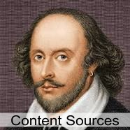 Content Sources - A Content Marketing Lesson from Shakespeare