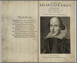 Shakespeare - First Folio Image