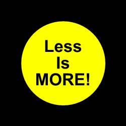Website Design - Less Is More