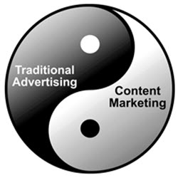 Advertising vs Content Marketing