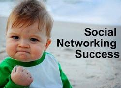 Building Social Network Success Baby