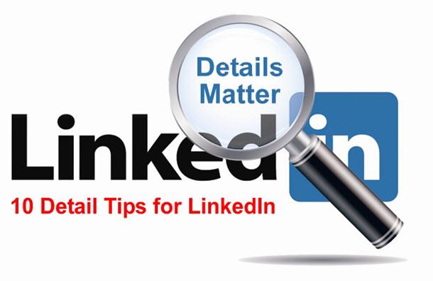 Ten LinkedIn Tips