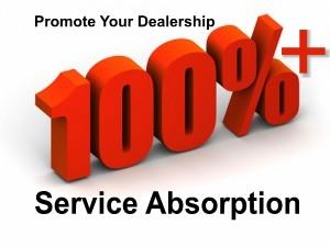 Auto Dealership - Service Absorption