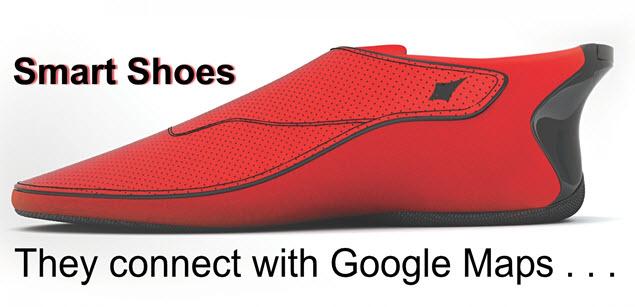 Responsive Design - Smart Shoes