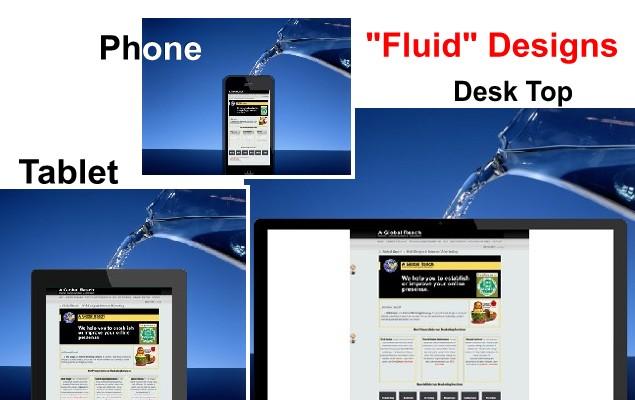 Responsive Website Design - Fluid Designs