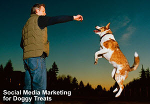 Social Media Marketing - for Dog Treats