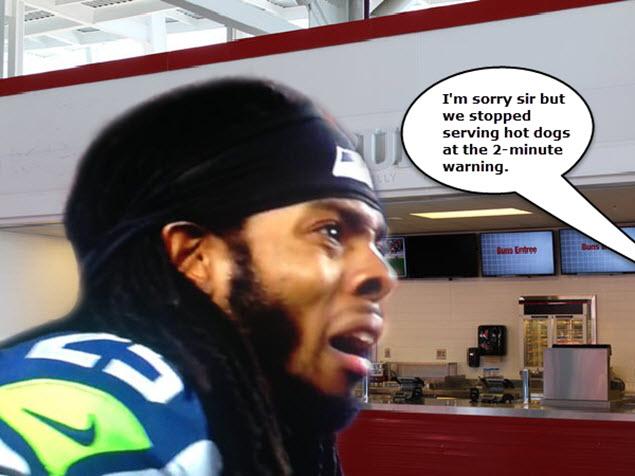 Richard Sherman - No More Hot Dogs - Super Bowl 49 Meme