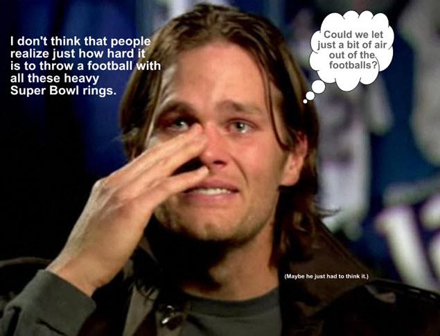 Tom Brady - Super Bowl 49 Meme
