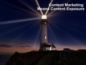 Content Marketing Means Content Exposure