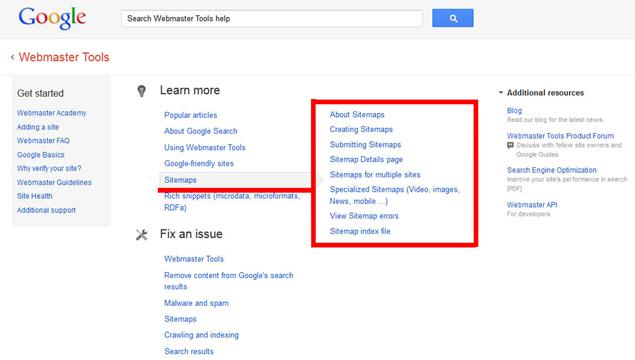 Google Image Sitemap Support - Webmaster Tools