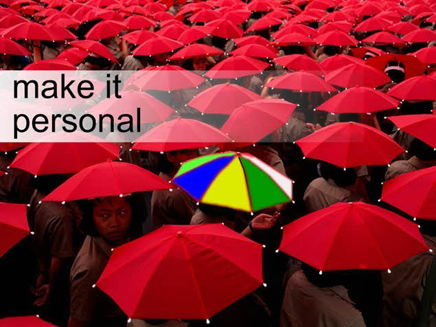 Content Marketing - Make It Personal