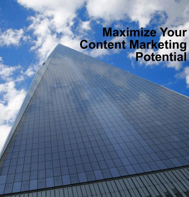 Content Marketing - Maximize Impac