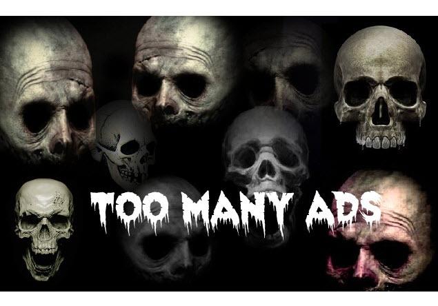 SEO - Too Many Ads