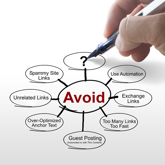 Link Building - Things to Avoid