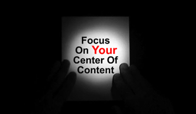 Develop and Focus on Your Center of Content - Lesson Learned from Friendster