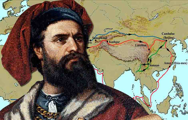 Marco Polo - Writing and Sharing