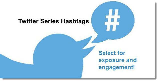 Twitter Series - Use of Hashtags