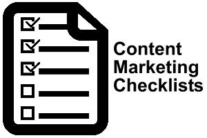 Content Marketing Checklists