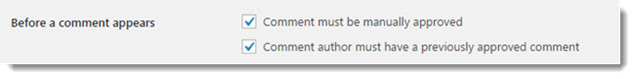 WordPress SEO - Blog Comments Settings