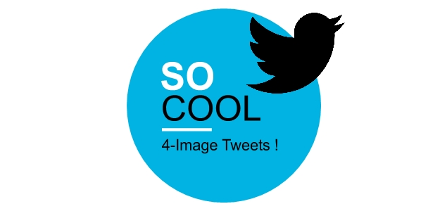 How To Make a Tweet with 4 Images