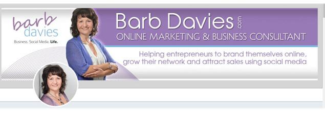 Twitter Header Graphic - Barb Davies